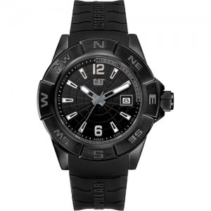Ρολόι ανδρικό NORTH Black - Black silicone AF.161.21.131 CAT® WATCHES