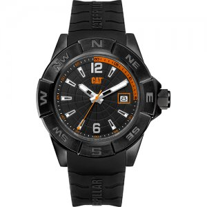 Ρολόι ανδρικό NORTH Black/Orange - Black silicone AF.161.21.134 CAT® WATCHES
