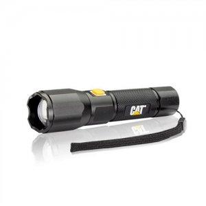 Φακός αλουμινίου επαναφορτιζόμενος με εστίαση δέσμης CREE LED 420 Lumens CT2405 CAT Lights CATERPILLAR Φωτισμός