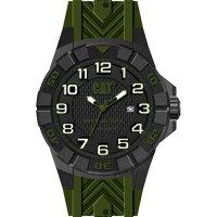 Ρολόι ανδρικό SPECIAL OPS Black/Green Carbon case - Green silicone K2.121.23.113 CAT® WATCHES