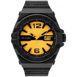 Ρολόι ανδρικό SPIRIT Yellow/Black - Black silicone LC.111.21.731 CAT® WATCHES