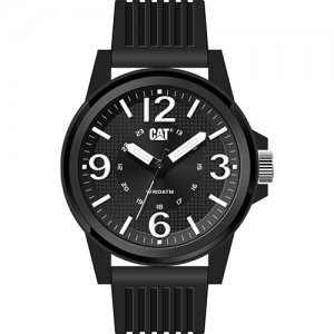 Ρολόι ανδρικό GROOVY Black/White - Black silicone LF.111.21.131 CAT® WATCHES