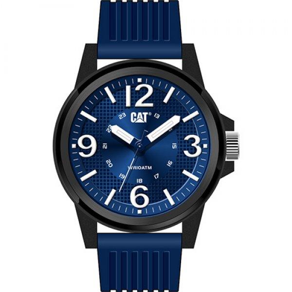 Ρολόι ανδρικό GROOVY Blue - Blue silicone LF.111.26.632 CAT® WATCHES