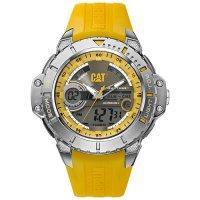 Ρολόι ανδρικό ANADIGIT Grey/Yellow - Yellow rubber MA.155.27.137 CAT® WATCHES