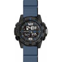 Ρολόι ανδρικό BASECAMP Black/Blue- Blue silicone MC.155.26.136 CAT® WATCHES