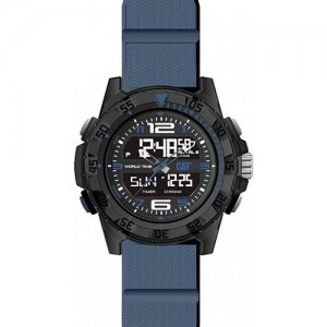 Ρολόι ανδρικό BASECAMP Black/Blue- Blue silicone MC.155.26.136 CAT® WATCHES