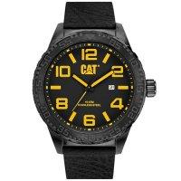 Ρολόι ανδρικό CAMDEN XL Black - Black Leather NH.161.34.137 CAT® WATCHES