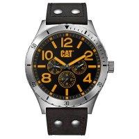 Ρολόι ανδρικό CAMDEN Black/Yellow - Black Leather NI.149.34.137 CAT® WATCHES