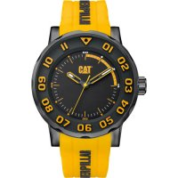 Ρολόι ανδρικό BOLD II Black/Yellow/Black case - Black/Yellow silicone NM.161.27.117 CAT® WATCHES