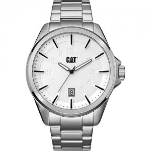 Ρολόι ανδρικό SLATE Silver - Stainless steel  NO.141.11.211 CAT® WATCHES | Ρολόγια Cat® Watches | karaiskostools.gr