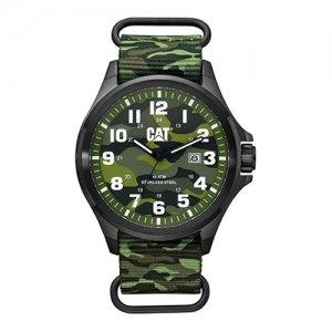 Ρολόι ανδρικό OPERATOR Camo Green - Green nylon PU.161.68.818 CAT® WATCHES