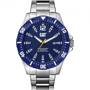 Ρολόι ανδρικό STEER Deep blue - Stainless steel PX.141.11.636 CAT® WATCHES