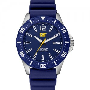 Ρολόι ανδρικό STEER Deep blue - Blue silicone PX.141.26.636 CAT® WATCHES