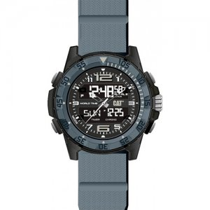 Ρολόι ανδρικό BASECAMP Black/Grey- Grey silicone MC.155.25.135 CAT® WATCHES | karaiskostools.gr