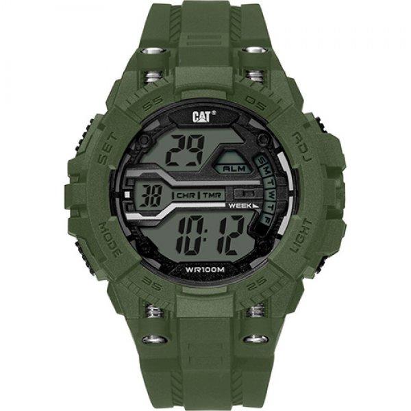 Ρολόι ανδρικό BOLT Black - Military Green OA.137.23.343 CAT® WATCHES | Ρολόγια Cat® Watches | karaiskostools.gr