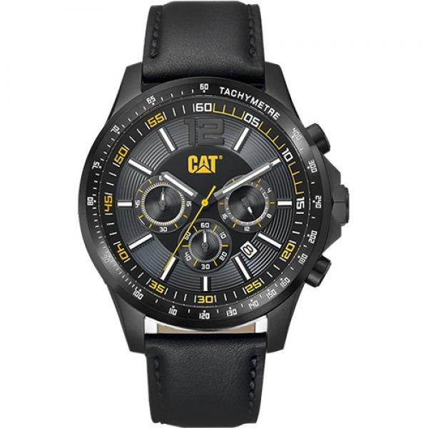 Ρολόι ανδρικό BOSTON Black - Black Leather AD.163.34.131 CAT® WATCHES | Ρολόγια Cat® Watches | karaiskostools.gr