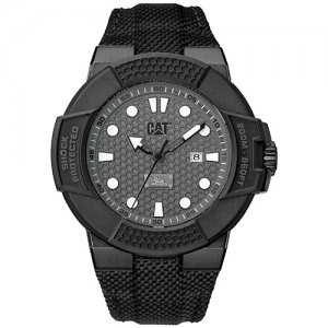 Ρολόι ανδρικό SHOCKMASTER Gun - Black nylon SF.151.65.515 CAT® WATCHES