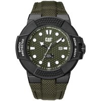 Ρολόι ανδρικό SHOCKMASTER Dark green - Dark green nylon SF.161.63.313 CAT® WATCHES