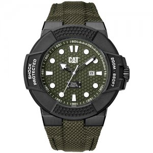 Ρολόι ανδρικό SHOCKMASTER Dark green - Dark green nylon SF.161.63.313 CAT® WATCHES