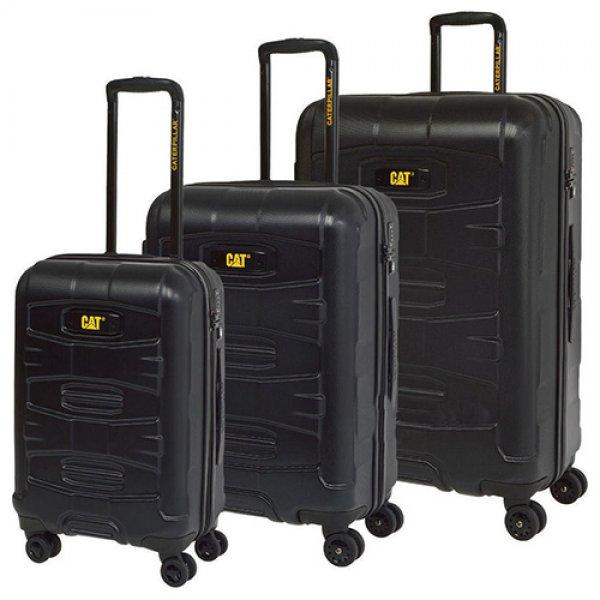 TANK βαλίτσες 3 pack 50,60,70εκ. 83383 Cat® Bags | Τσάντες - Βαλίτσες | karaiskostools.gr