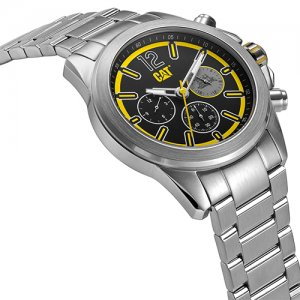 Ρολόι ανδρικό YU Twist Up Black/Yellow Stainless Steel YU.149.11.137 CAT® WATCHES