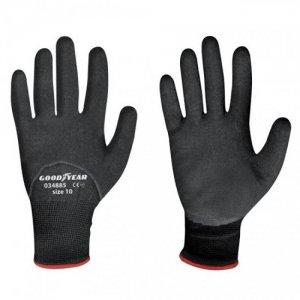 Γάντια GOODYEAR G034885 ναιλον/λατεξ  ΜΕΓ.8
