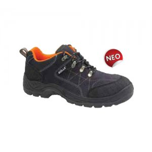 Παπούτσια ασφαλείας S1P ΜΑΥΡΟ/ΓΚΡΙ Μέγεθος 44