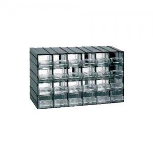 Συρταροθήκη πλαστική με 24 συρτάρια mod.611 ARTPLAST Πάγκοι & Ταμπλό