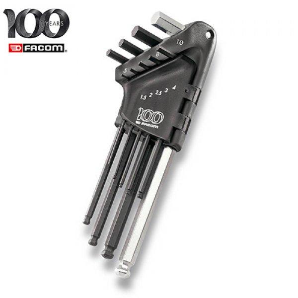 Σετ με 9 κλειδιά άλλεν μπίλιας με θήκη FACOM 83SH.JP9A100Y