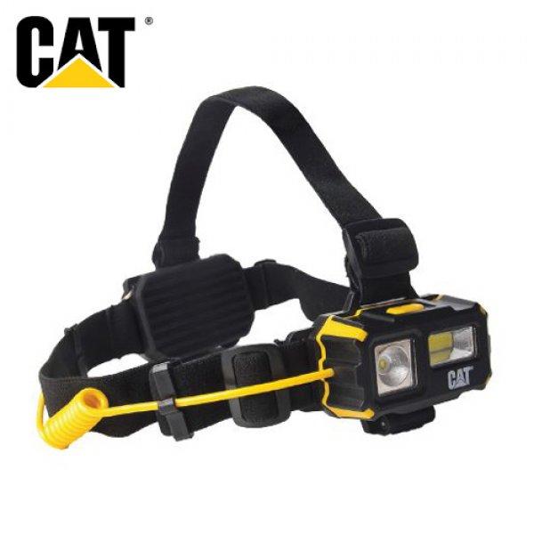 Φακός κεφαλής 4 λειτουργιών COB LED 120 & 250 Lumens CT4120  CAT Lights CATERPILLAR Φωτισμός