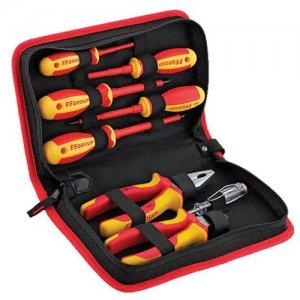 Σετ πένσες και κατσαβίδια 1000Volt 8 τεμαχίων 38375 FF GROUP | Εργαλεία Χειρός - Κατσαβίδια & Μύτες:::Εργαλεία Χειρός - Πένσες | karaiskostools.gr