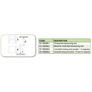 Ανταλλακτικό εργαλείο κασετίνας χρονισμού (FG 192/AF4) - FG 192/AF4-4 FASANO Tools