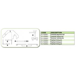 Ανταλλακτικό εργαλείο κασετίνας χρονισμού (FG 192/BW5) - FG 192/BW5-3 FASANO Tools