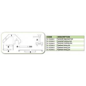 Ανταλλακτικό εργαλείο κασετίνας χρονισμού (FG 192/BW5) - FG 192/BW5-6 FASANO Tools