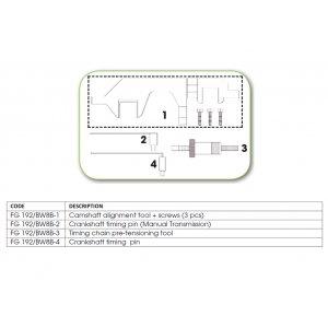 Ανταλλακτικό εργαλείο κασετίνας χρονισμού (FG 192/BW8B) - FG 192/BW8B-3 FASANO Tools