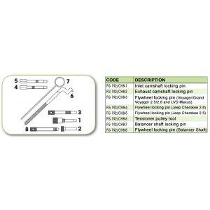Ανταλλακτικό εργαλείο κασετίνας χρονισμού (FG 192/CH8) - FG 192/CH8-2 FASANO Tools