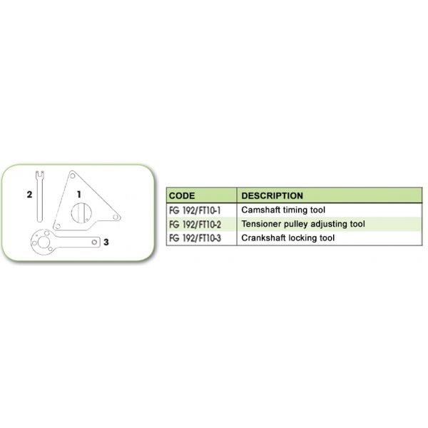 Ανταλλακτικό εργαλείο κασετίνας χρονισμού (FG 192/FT10) - FG 192/FT10-2 FASANO Tools