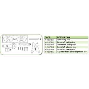 Ανταλλακτικό εργαλείο κασετίνας χρονισμού (FG 192/FT 12) - FG 192/FT12-6 FASANO Tools