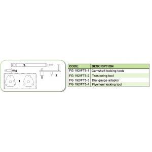 Ανταλλακτικό εργαλείο κασετίνας χρονισμού (FG 192/FT5) - FG 192/FT5-2 FASANO Tools