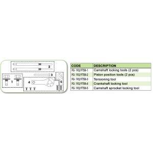 Ανταλλακτικό εργαλείο κασετίνας χρονισμού (FG 192/FT5B) - FG 192/FT5B-4 FASANO Tools