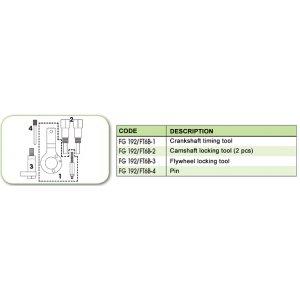 Ανταλλακτικό εργαλείο κασετίνας χρονισμού (FG 192/FT6B) - FG 192/FT6B-4 FASANO Tools