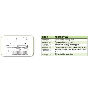 Ανταλλακτικό εργαλείο κασετίνας χρονισμού (FG 192/FT7) - FG 192/FT7-4 FASANO Tools