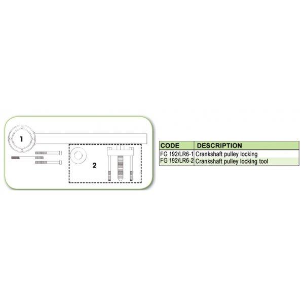 Ανταλλακτικό εργαλείο κασετίνας χρονισμού (FG 192/LR6) - FG 192/LR6-1 FASANO Tools