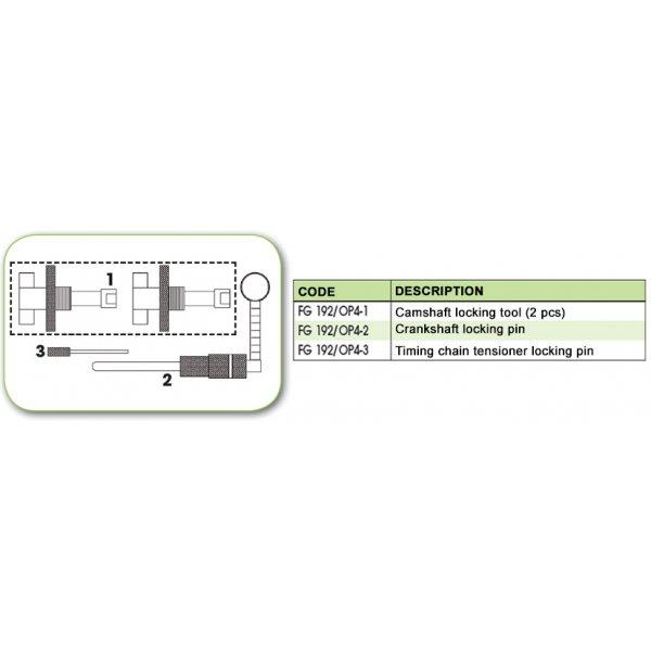 Ανταλλακτικό εργαλείο κασετίνας χρονισμού (FG 192/OP4) - FG 192/OP4-1 FASANO Tools
