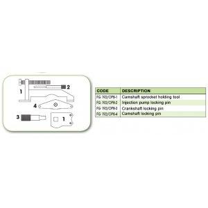 Ανταλλακτικό εργαλείο κασετίνας χρονισμού (FG 192/OP8) - FG 192/OP8-2 FASANO Tools