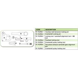 Ανταλλακτικό εργαλείο κασετίνας χρονισμού (FG 192/RE6) - FG 192/RE6-6 FASANO Tools