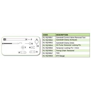 Ανταλλακτικό εργαλείο κασετίνας χρονισμού (FG 192/VW8) - FG 192/VW8-6 FASANO Tools