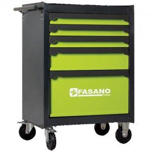 Εργαλειοφόρος τροχήλατος 5 συρταριών FG 103V/5G FASANO Tools