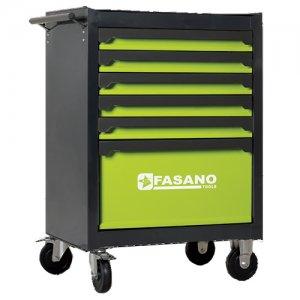 Εργαλειοφόρος τροχήλατος 6 συρταριών FG 103V/6G FASANO Tools