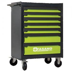 Εργαλειοφόρος τροχήλατος 7 συρταριών FG 103V/7G FASANO Tools